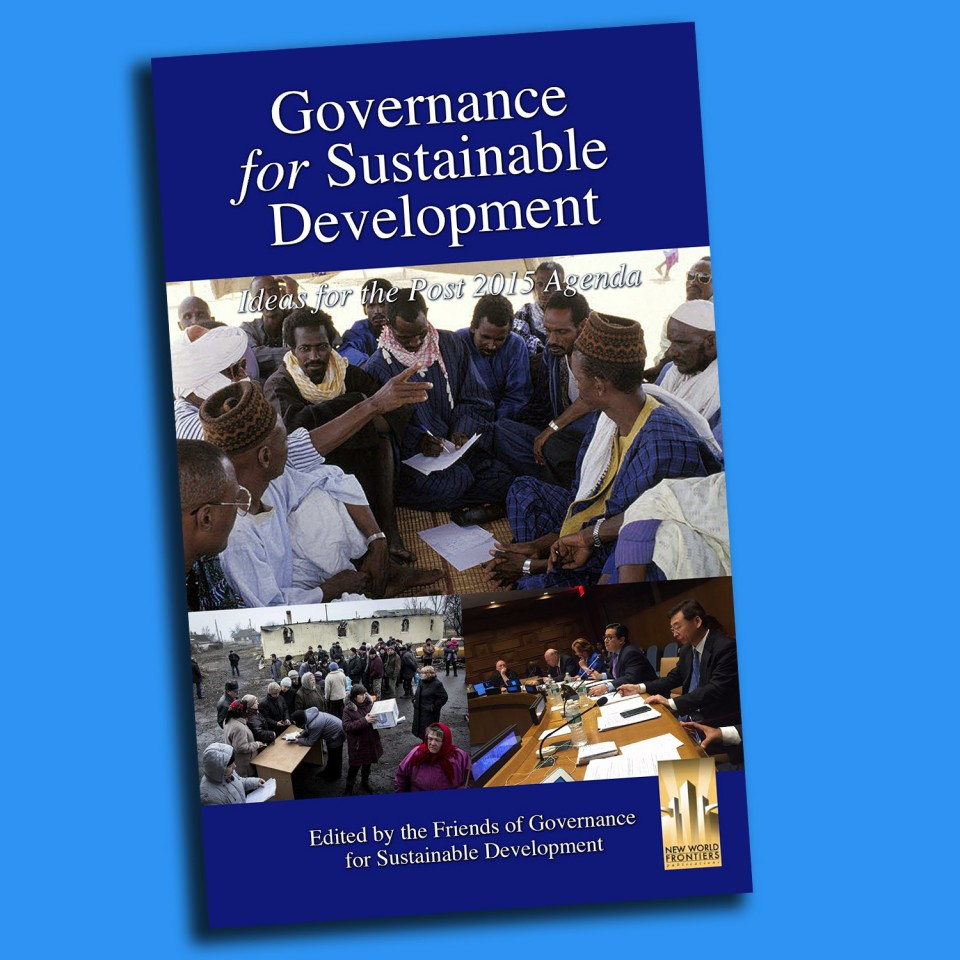 Governance For Sustainable Development Book cover